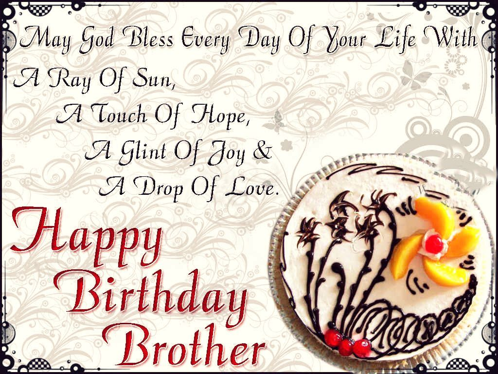 Happy Birthday Brother Messaging Fun